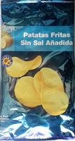 Patatas fritas sin sal añadida - Producto - es