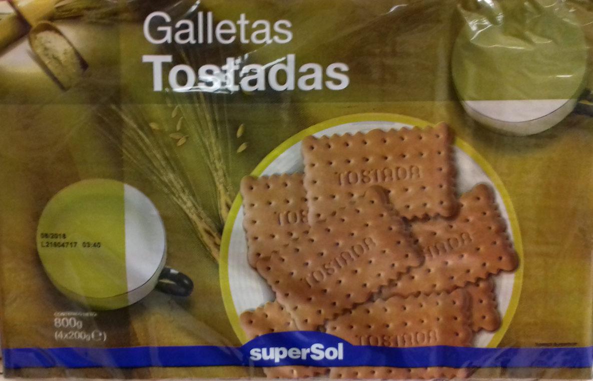 Galletas Tostadas - Product
