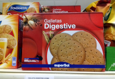 Galletas Digestive Supersol - 3