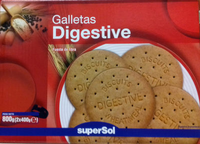 Galletas Digestive Supersol - Produkt - es