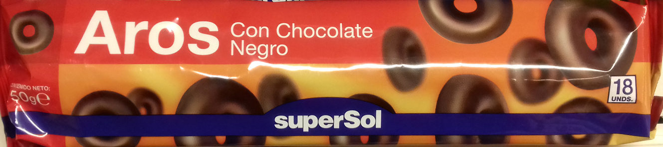 Aros con Chocolate Negro - Producte - es