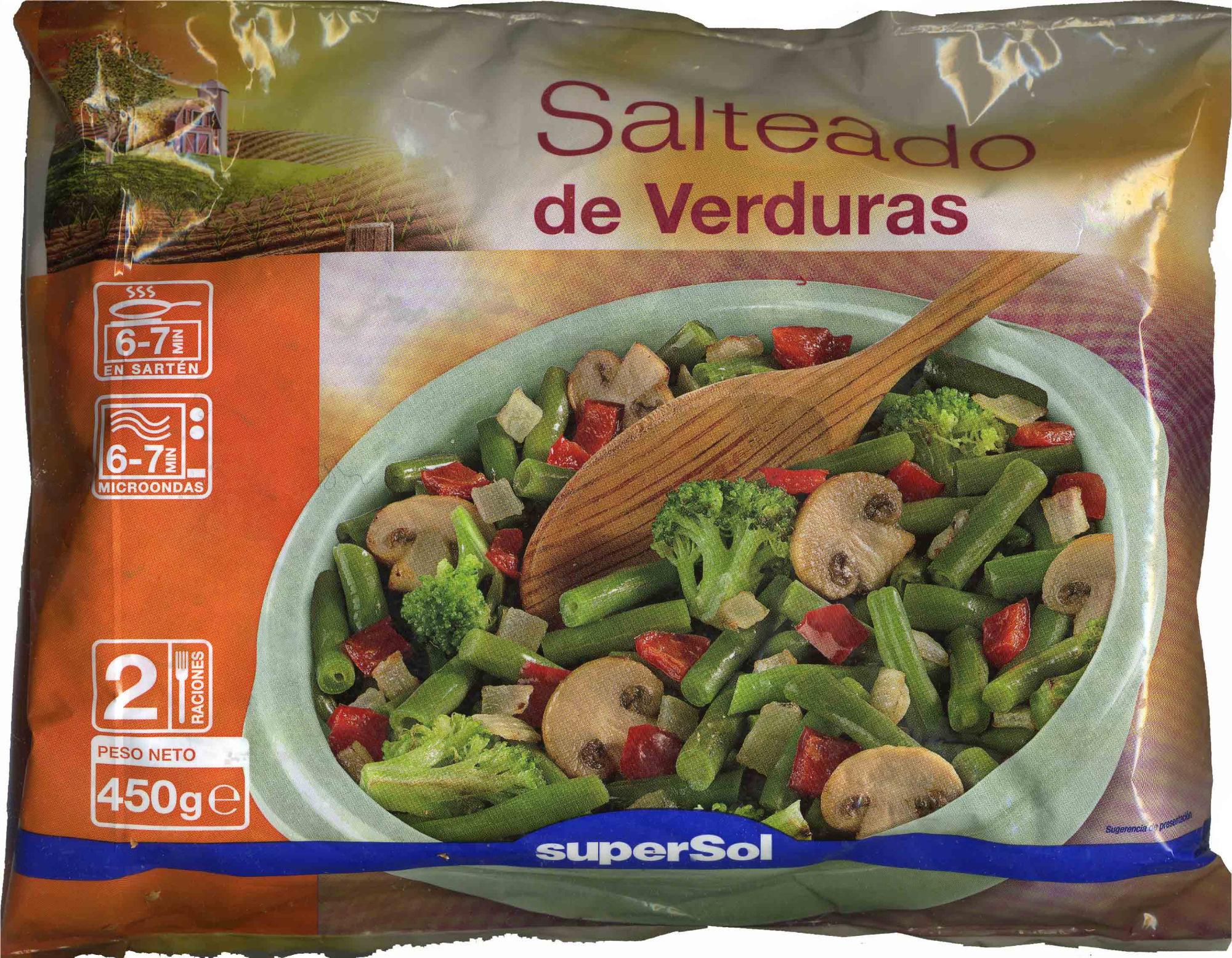 Salteado de verduras congelado - Product - es