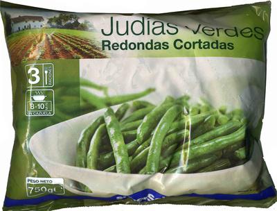 """Judías verdes redondas troceadas congeladas """"SuperSol"""""""