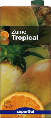 "Zumo tropical ""SuperSol"" - Product - es"