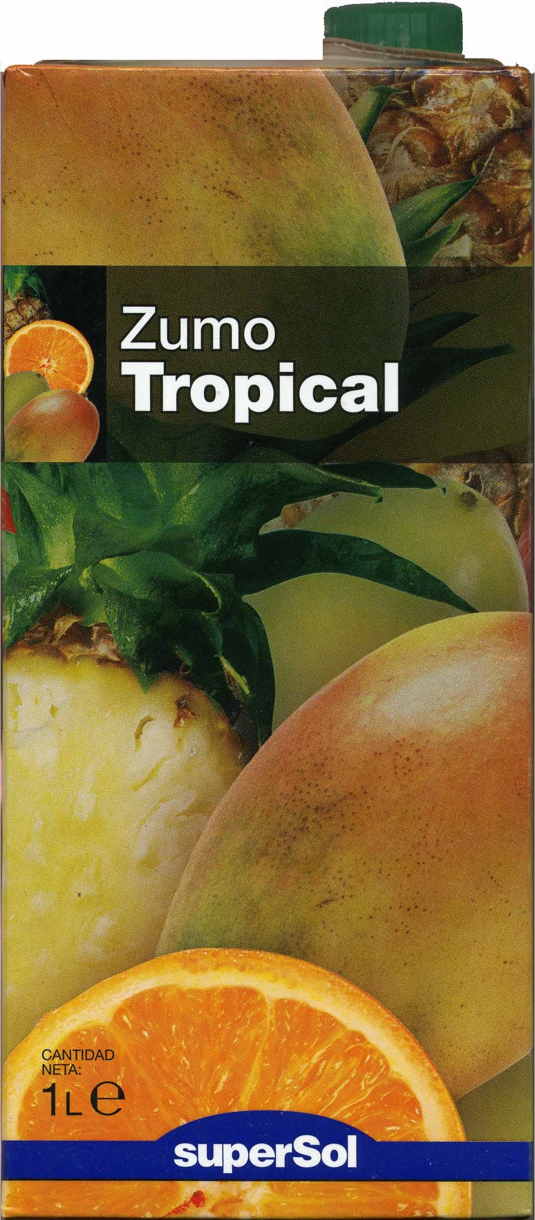 "Zumo tropical ""SuperSol"" - Produit"