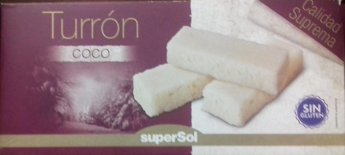 Turrón Coco - Producto - es