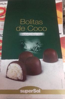 Bolitas de coco - Producte