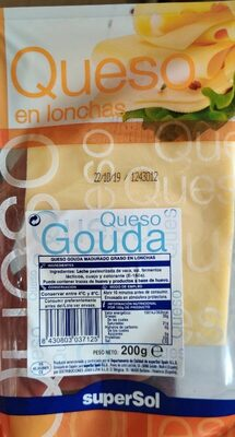 Queso gouda en lonchas - Product