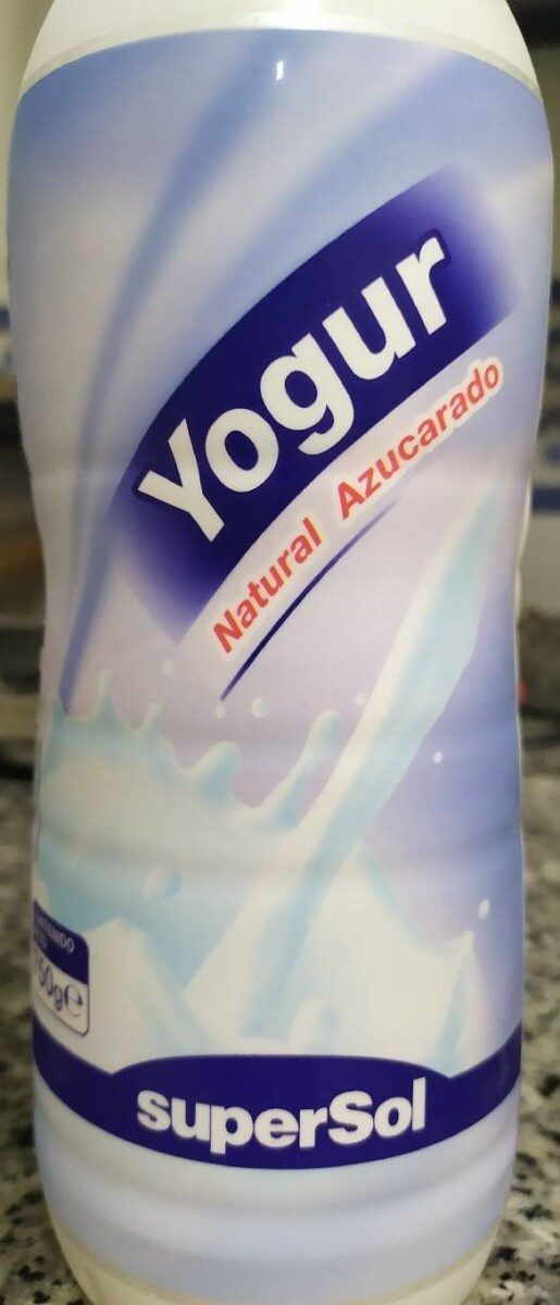 Yogur natural azucarado - Product