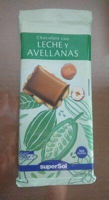 Chocolate com Leche y Avellanas