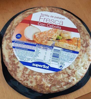 Tortilla de patata Fresca con cebolla - Product - es