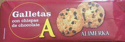 Galletas con chispas de chocolate - Product - es