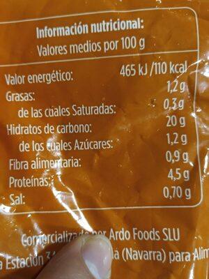 Arroz 3 delicias - Хранителна информация - es