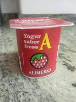 Yogur azucarado sabor fresa - Product