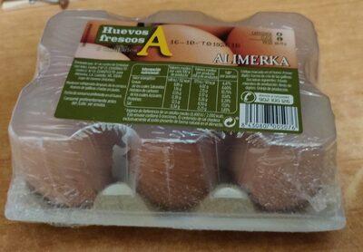 Huevos Frescos 6 unidades - Product