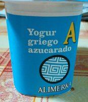 Yogur griego azucarado - Producte - fr