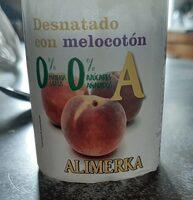 Yogur desnatado con melocotón - Product