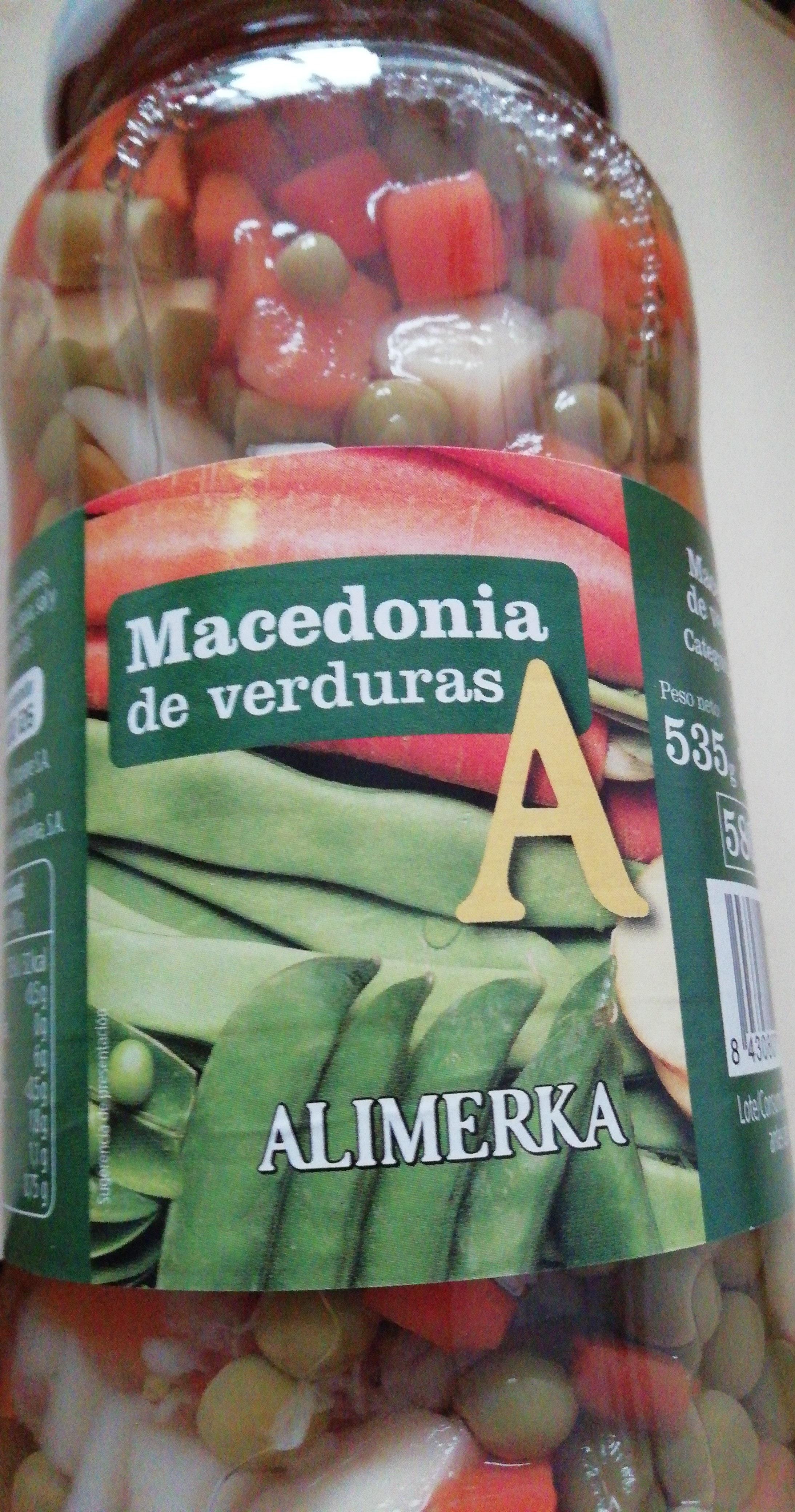 Macedonia de verduras - Producto - es