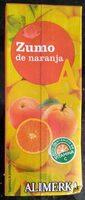 Zumo de naranja - Producto