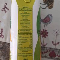 Néctar de piña ligero - Nutrition facts