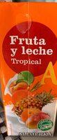 Zumo de fruta y leche tropical - Product