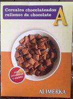 Cereales chocolateados rellenos de chocolate - Producto