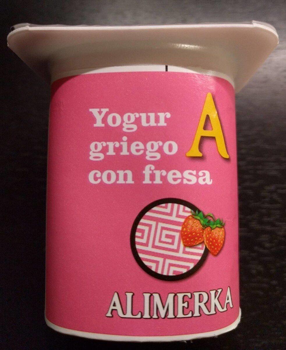 Yogur griego con fresa - Producte - es