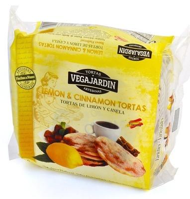 Tortas de aceite con limón y canela - Produit - es