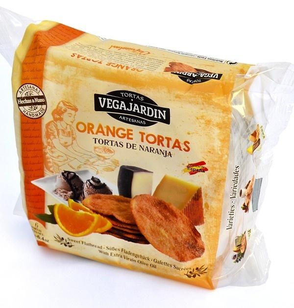 Tortas de aceite con naranja - Produit - es