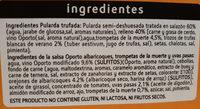 Pularda trufada asada al horno - Ingredientes