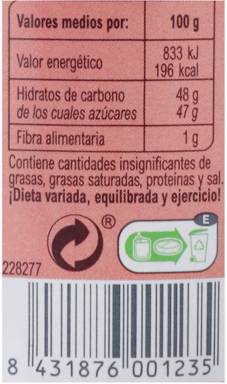 Mermelada frutos del bosque - Información nutricional - es