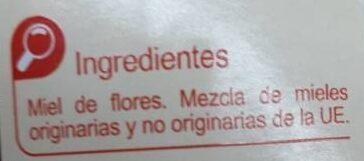 Miel de Flores - Ingredientes