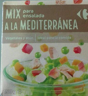 Mix para ensalada a la mediterránea - Prodotto - es
