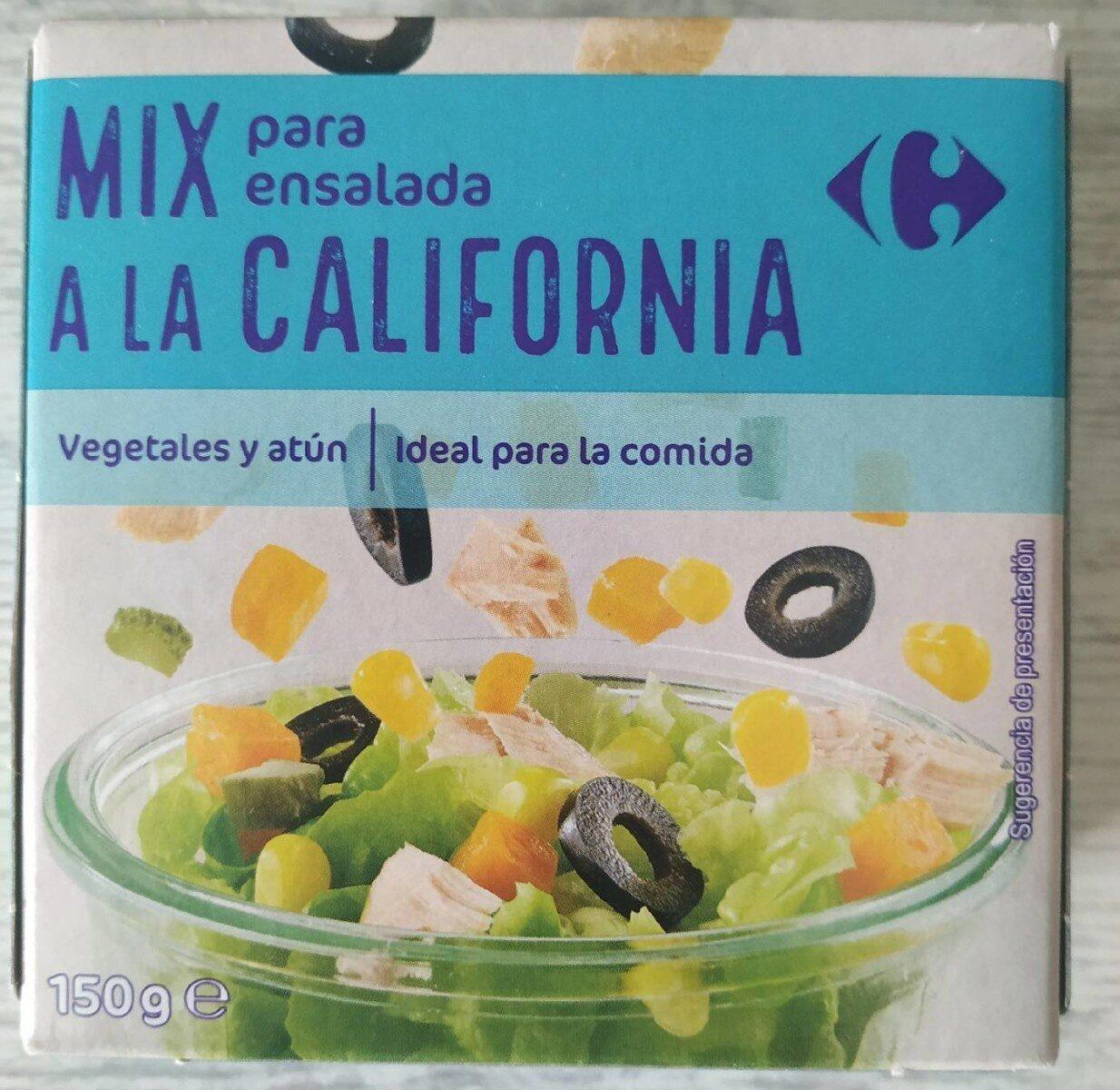 MIX para ensalada a la CALIFORNIANA - Prodotto - es