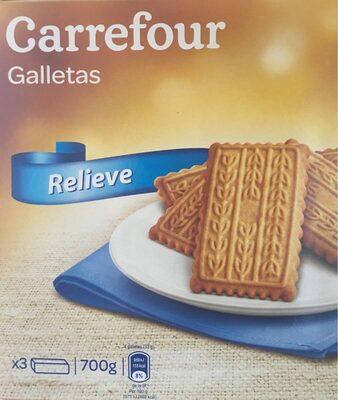 Galletas Relieve toque miel aceite alto oleico - Product