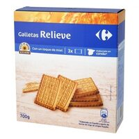 Galleta relieve - Produit - es