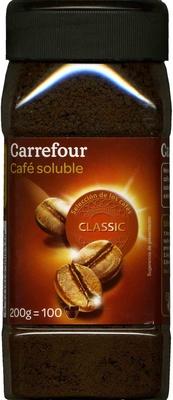Café soluble - Producte