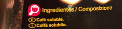 Café soluble - Ingredients