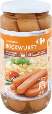 Salchicha Bockwurst - Producte - es