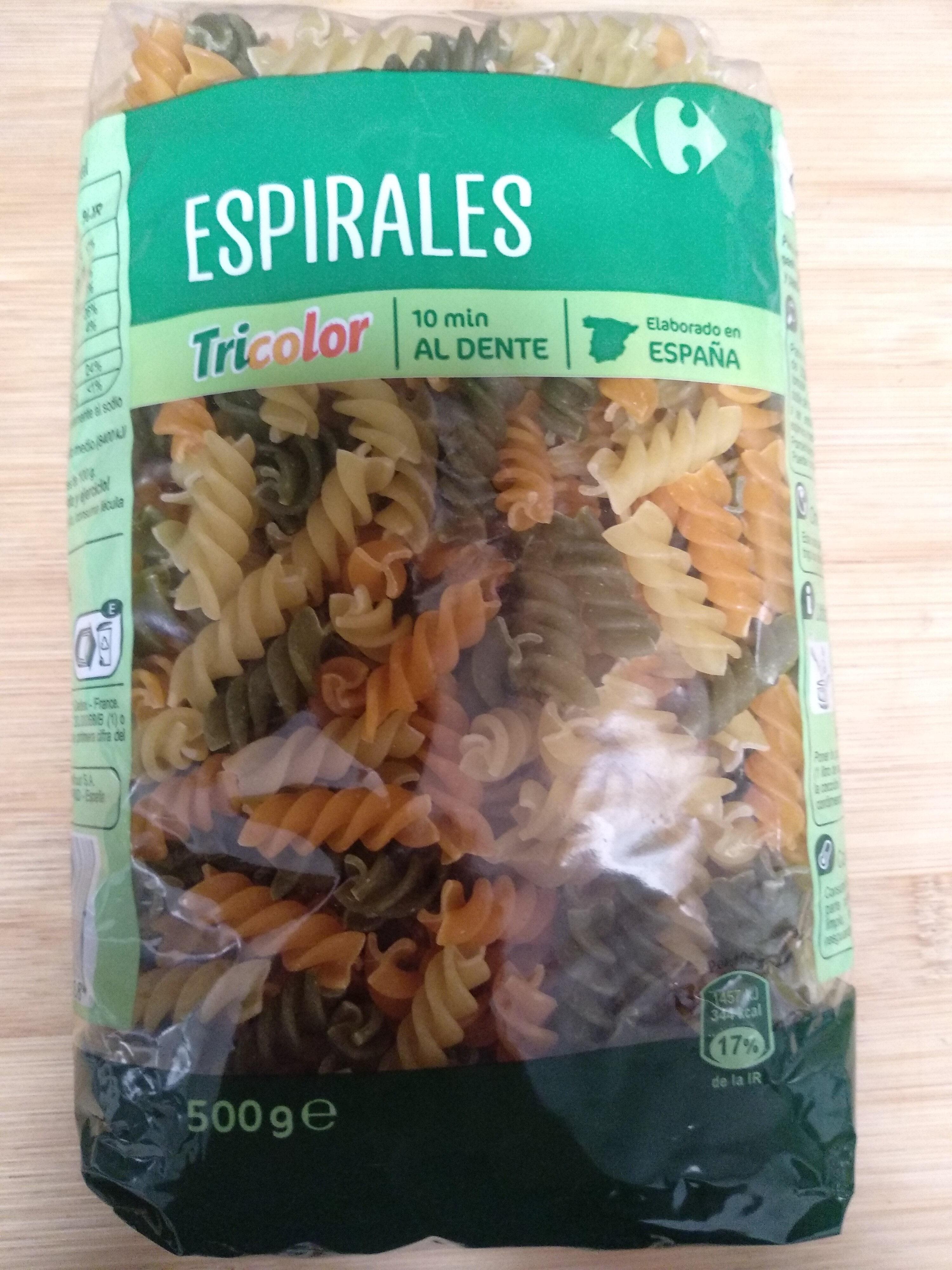 Espirales Tricolor - Producte