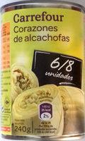 Corazones de alcachofa - Producto