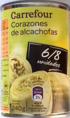 Corazones de alcachofa - Producto - es