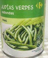 Judías Verdes Redondas finas - Producto
