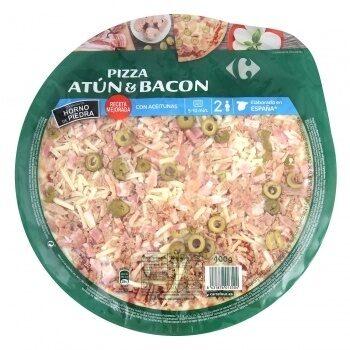 Pizza atún y bacon - Producte - es