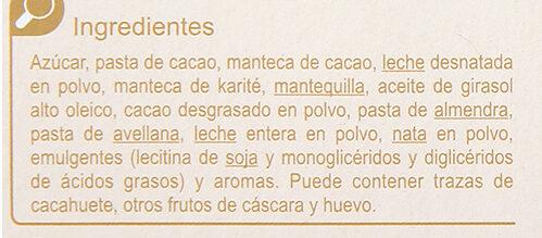 Turrón de trufa - Ingredientes - es