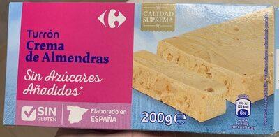 Turrón crema de Almendras - Producto