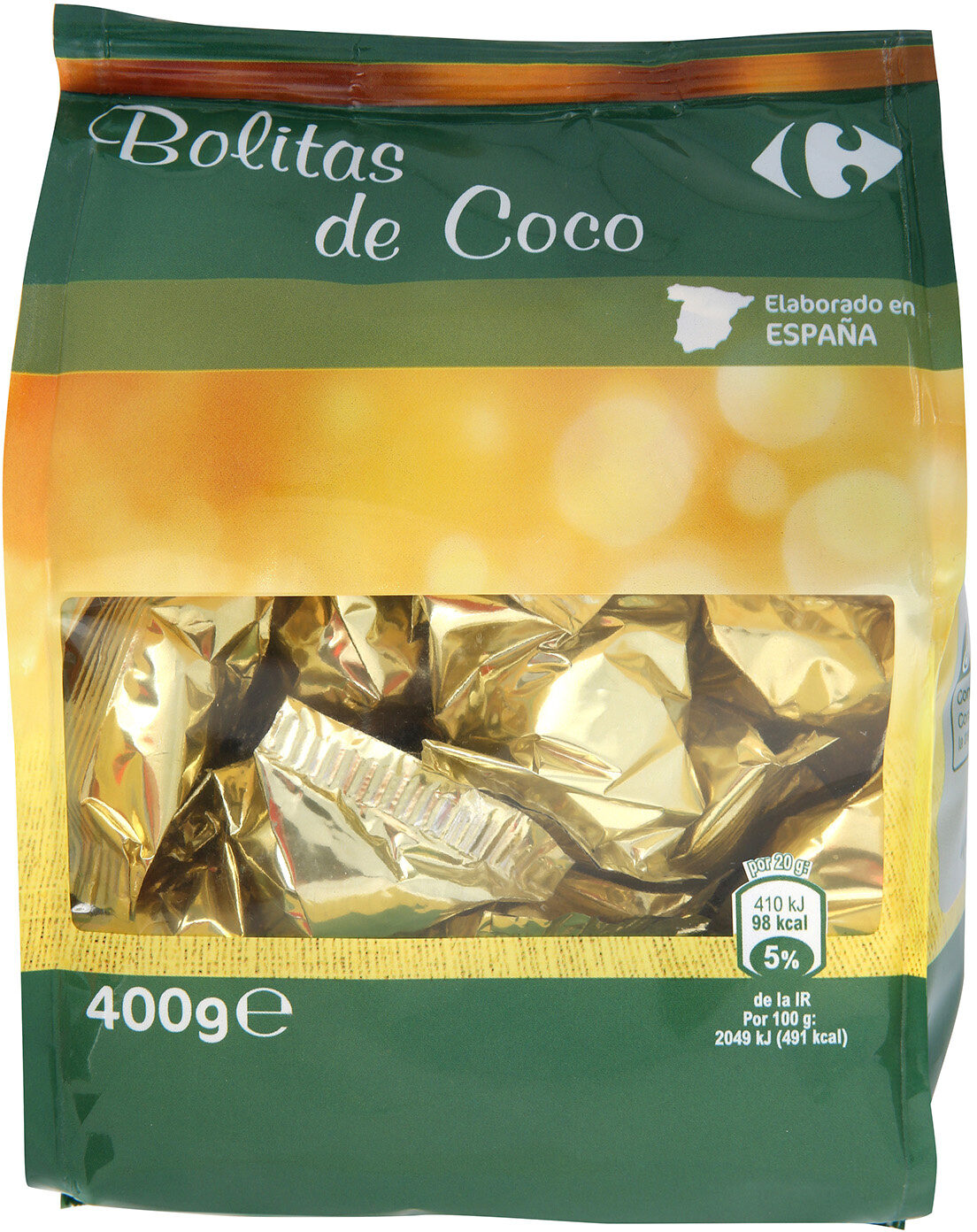 Bolitas coco - Producte - es