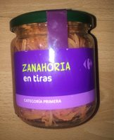 Zanahorias en tiras - Produit - fr