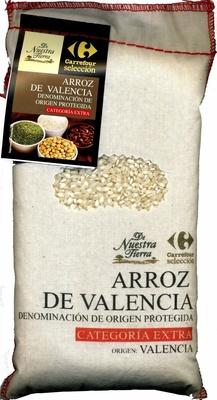 Arroz blanco Origen Valencia