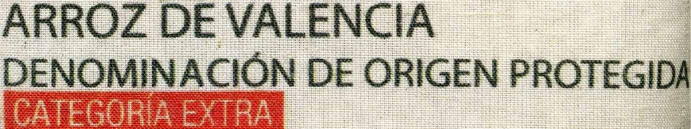 Arroz de Valencia - Ingrédients - es
